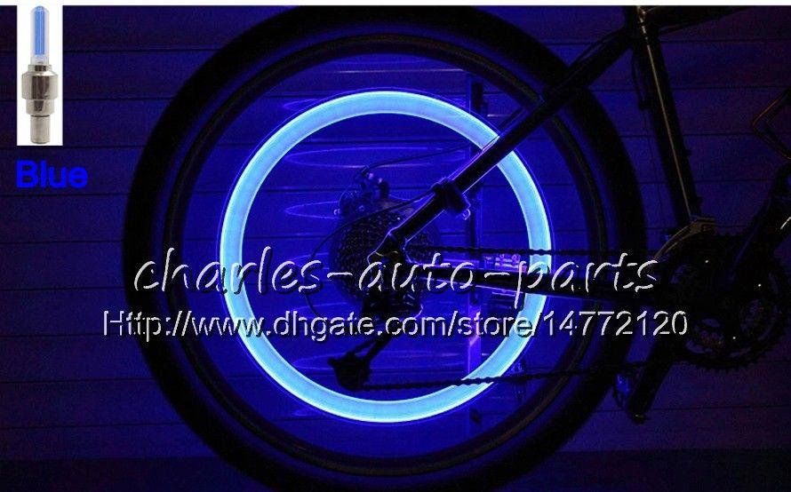 1USD LED Flash Tire Luz Da Bicicleta Da Roda Tampão Da Válvula de Luz Do Carro Da Bicicleta Da Bicicleta Motorbicycle Motocicleta LEVOU Pneu Da Roda lâmpada de Luz Do Carro 9 cores à venda