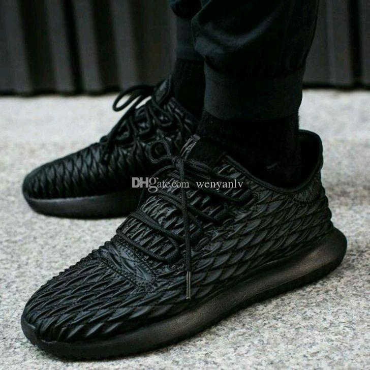 New Y3 Tubular Shadow Knit Boots For Men And Women Top Quality Sneakers  Black White Khaki Boots Trainers Size 36 45 UK 2019 From Wenyanlv 15bd4a649