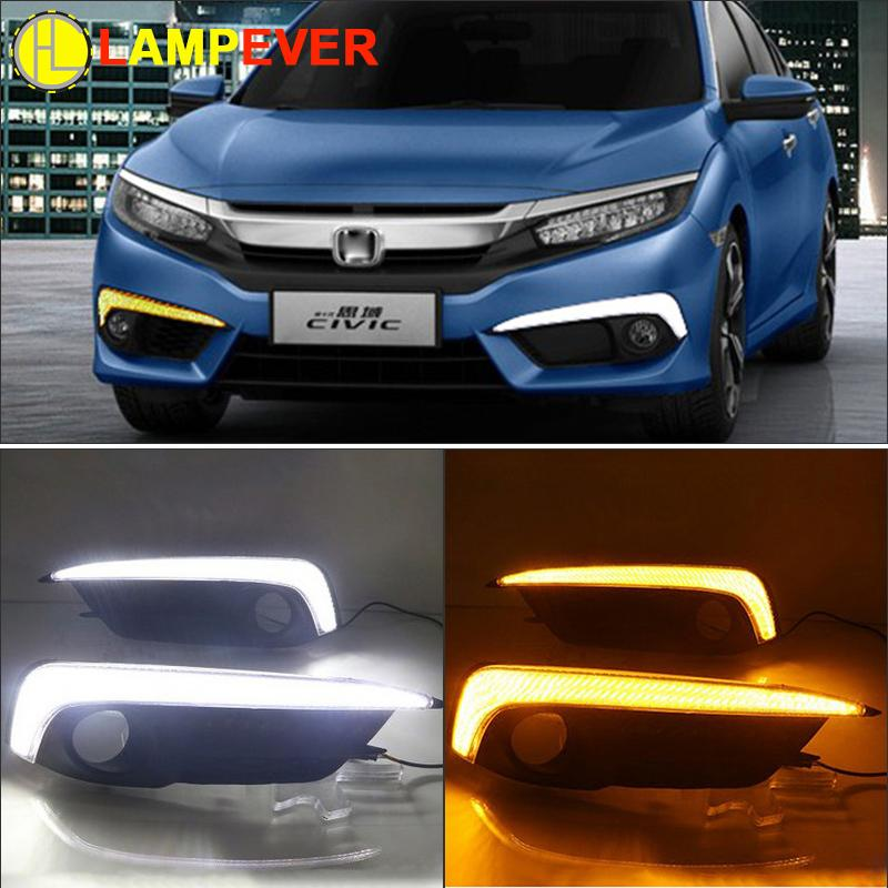 Turning Signal Light Bar Style Car Led Drl Daytime Running Lights - Car signal light