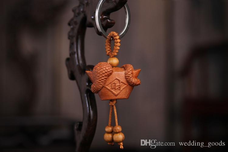 Vendita calda portachiavi Zodiac Taoyu giuggiola tridimensionale portachiavi regalo ciondolo KR156 Portachiavi ordine della miscela 20 pezzi un sacco