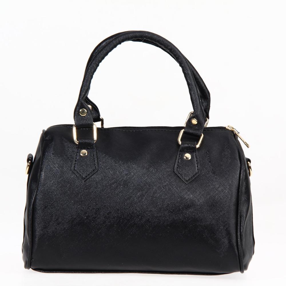 4489f71c7a19 Wholesale- 2016 New Fashion Women Leather Handbag Brand Women Boston ...