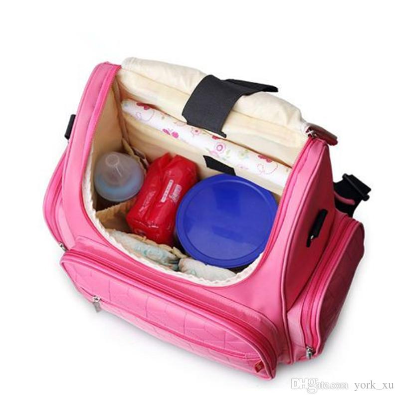 10 نمط الأم حقيبة حفاضات حقائب الأطفال الحفاظات حقيبة الأم حفاضات حقائب الظهر في الهواء الطلق حقائب كبيرة منظم kid375