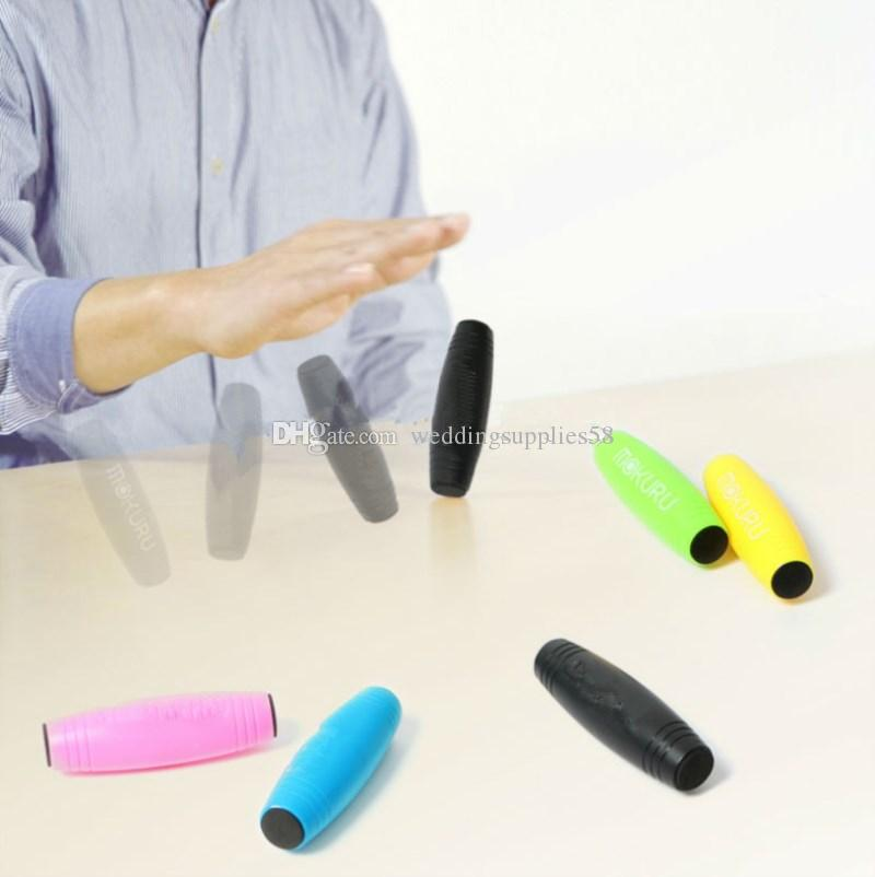 LED Fidget Roller Stick Flip Trick Stress Relief Focus Desk Toys Anxiety Release Decompression Rod Free freight