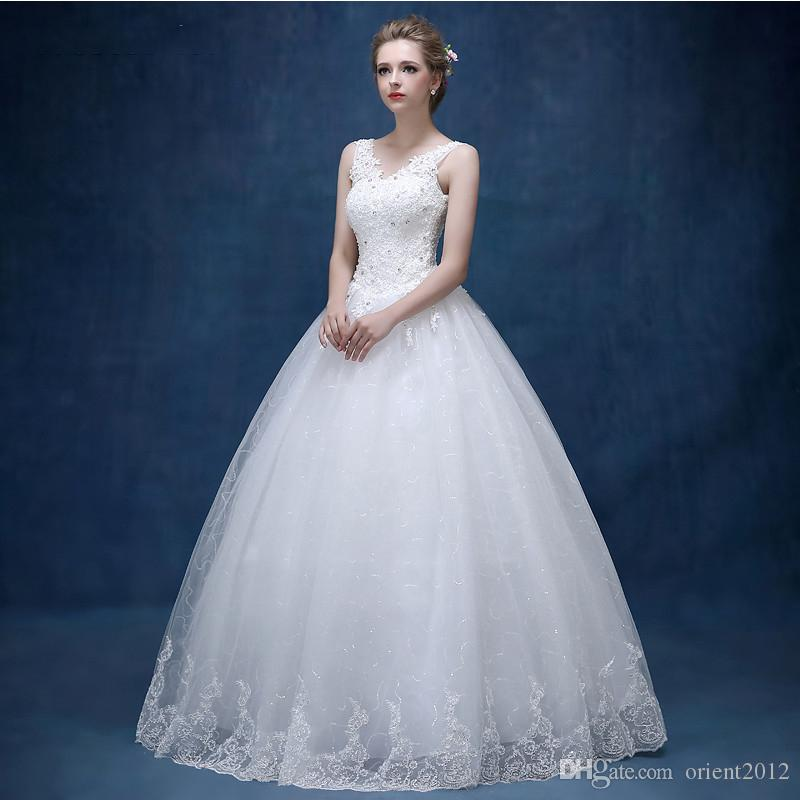 Elegant Slim Sexy Lace Sheath Bridal Wedding Dresses 2017 ...