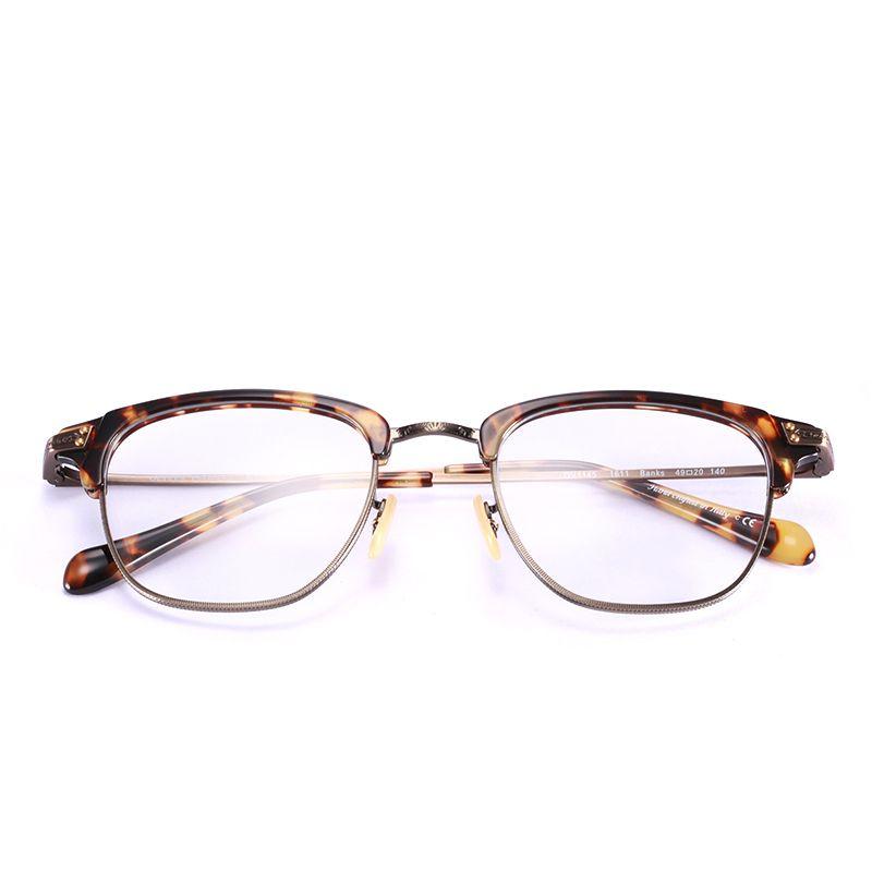 Men Eyewear Ov 1145 Optiocal Frame Prescription Glasses Half-frame ...