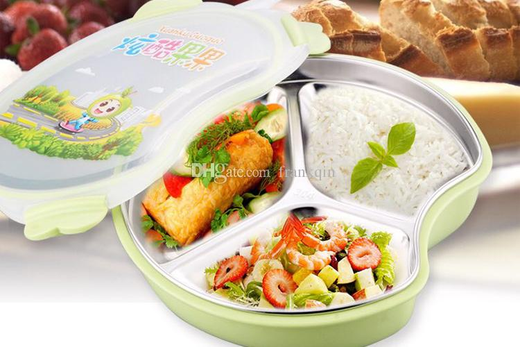 Eco Friendly Child Apple 18 8 Stainless Steel