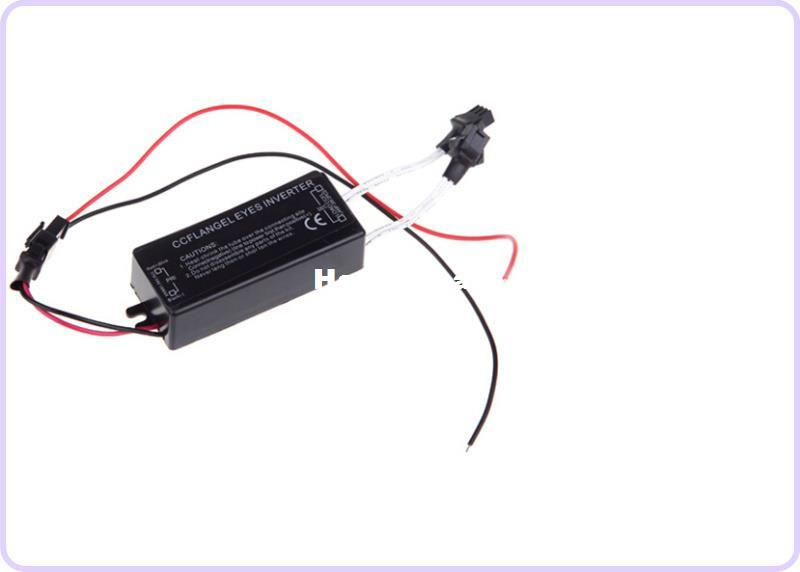 DC12V CCFL Inverter for CCFL Angel Eyes Light Lamp Bulb Halo Ring Spare  Ballast Fit for any cars FREE SHIPPING