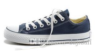 Drop shipping 2015 Yeni kanvas ayakkabılar erkekler ayakkabı yıldız Düşük Yüksek unisex erkekler sneakers kadın sneakers ayakkabı tüm boyut 35-45