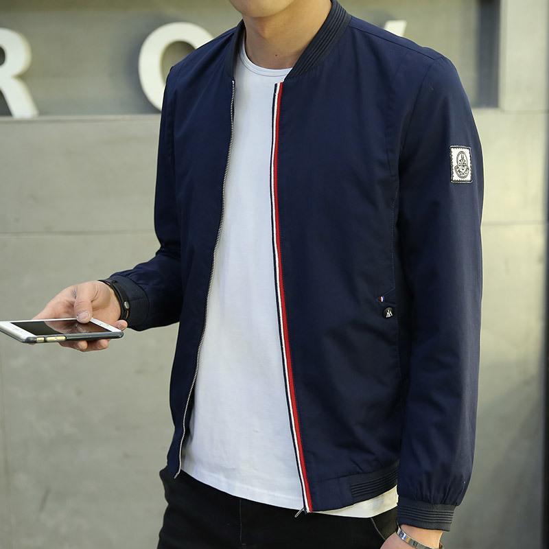 fe96b34e75be9 2016 Brand New Mens Jackets And Coats Autumn Winter Slim Fit Jaqueta  Masculina Fashion Solid Quality Bomber Jacket Men M-3XL High Quality Jacket  Jacke China ...