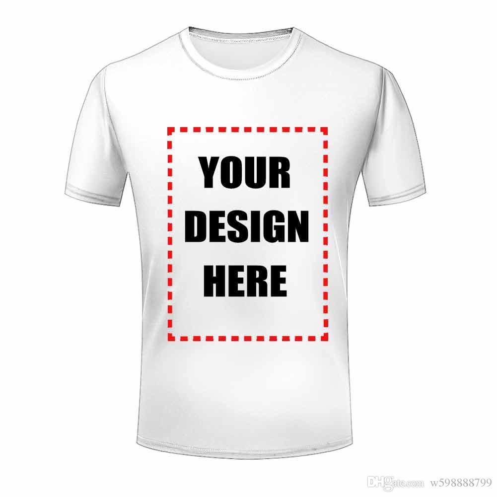 Wholesale Mens T Shirts Short Sleeve Cheap Custom 3d Text Font ...