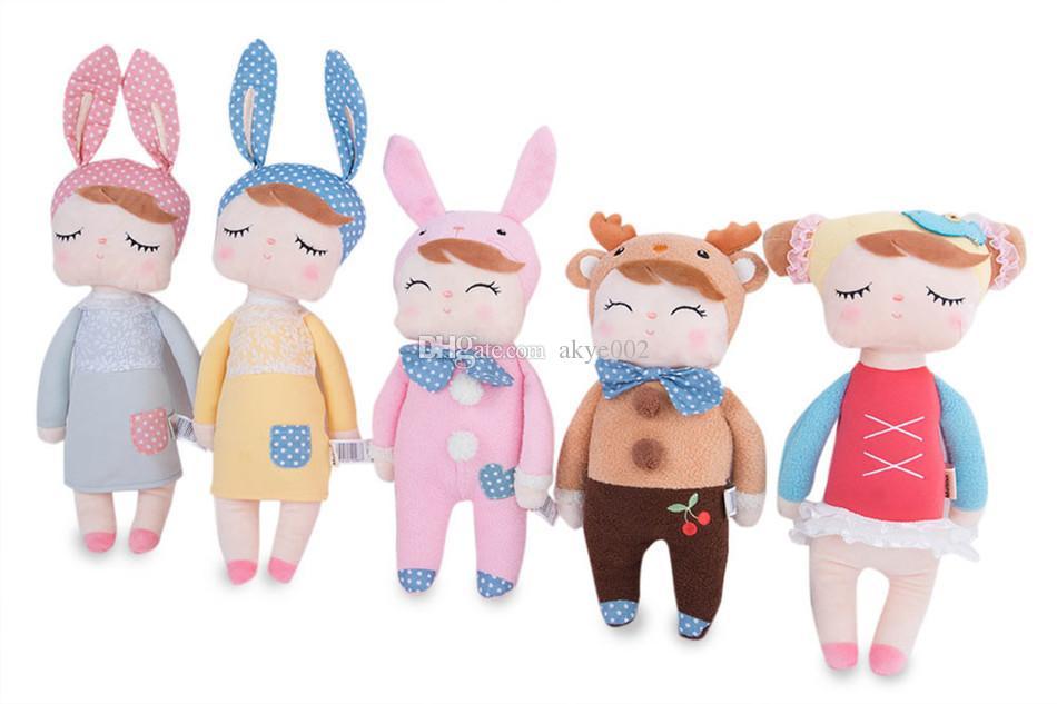 Chaud Metoo reborn bébés nouveauté belle Cartoon Design Animal Peluche En Peluche Poupée Mignonne pour Enfants D'anniversaire / Cadeau De Noël 34CM
