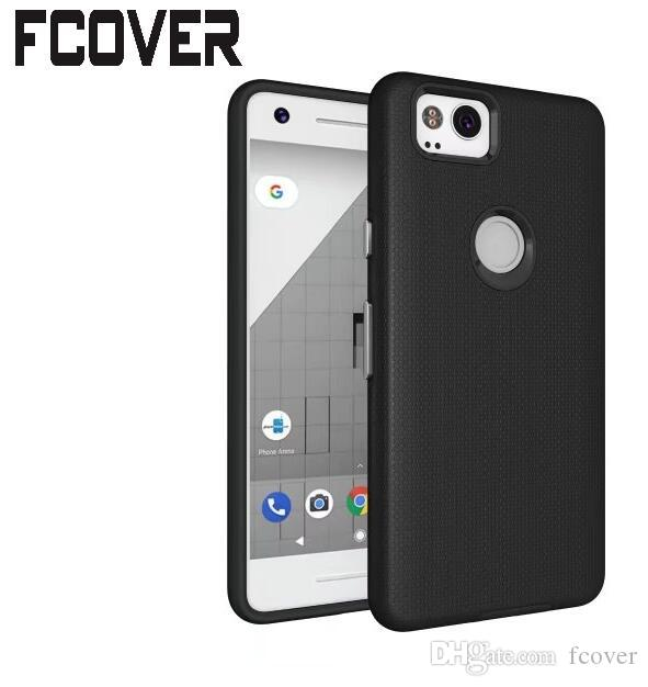 huge selection of c3634 5aa1d Pixel 3 XL Hybrid Rough For Google Pixel 2 XL Case football Hard Soft  Silicon PC Gel Skin Back Cover