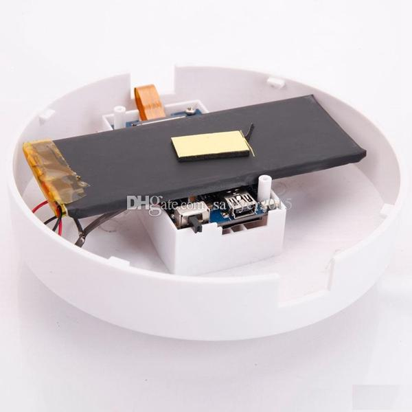 Detector de humo inalámbrico WiFi Mini cámara HD 1920 * 1080P detector de humo videocámara con detección de movimiento DVR de seguridad de la casa