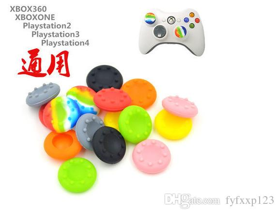 Soft Skid-Proof Silicone Thumbsticks cap Thumb stick caps Joystick covers Grips cover for PS3/PS4/XBOX ONE/XBOX 360 controllers B777