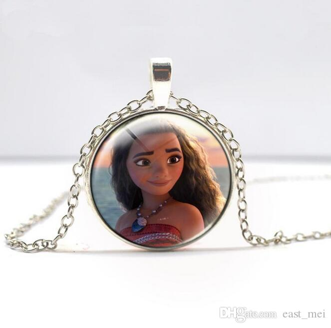 High quality Children Christmas Gifts Anime Ocean Adventure Necklace WFN346 with chain a
