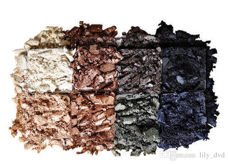 Nuovo arrivo i ombretto palette trucco cosmetici LORAC PRO METAL palette oro rosa ombretto