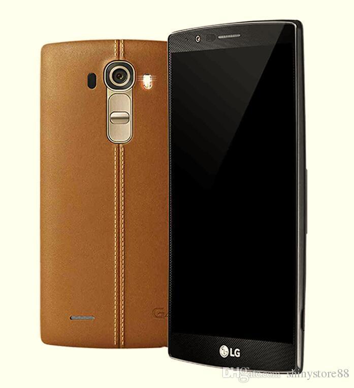 "Refurbished Original LG G4 H810 H811 H815 VS986 Unlocked Cell phone 5.5"" 3GB RAM 32GB ROM Quad Core 16MP 4G LTE"