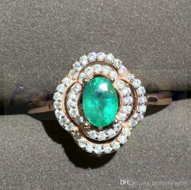for vintage classic women anel agate of emerald one jewel unique real this rings diamond