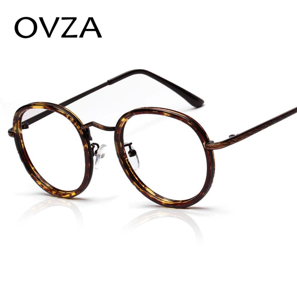 Wholesale- Ovza Classic Round Vintage Glasses Frames for Women Art ...