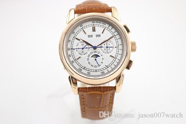 Compre Venta Caliente Super Complicated Automático Reloj Rosa Oro ...