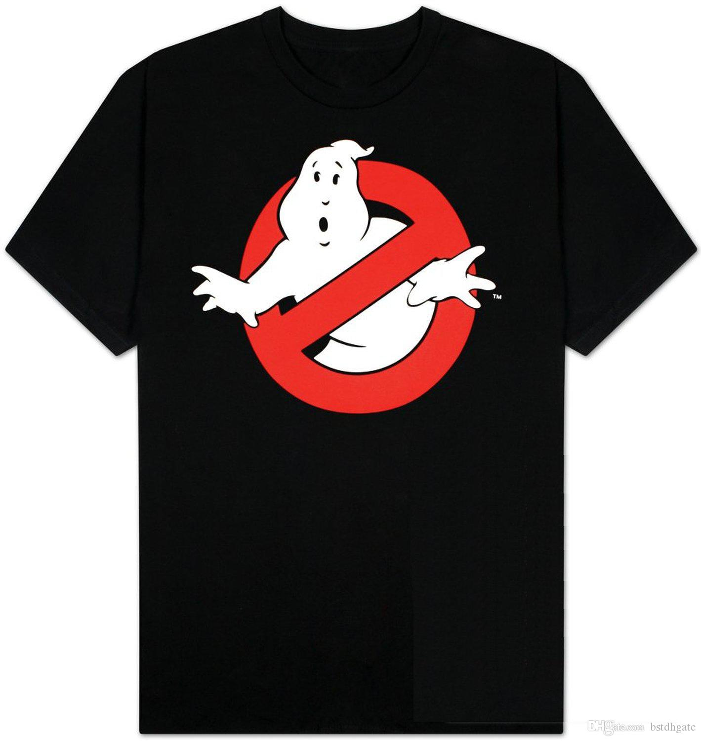 Summer Fashion Funny Print T Shirts Ghostbusters Ghost Logo T ...