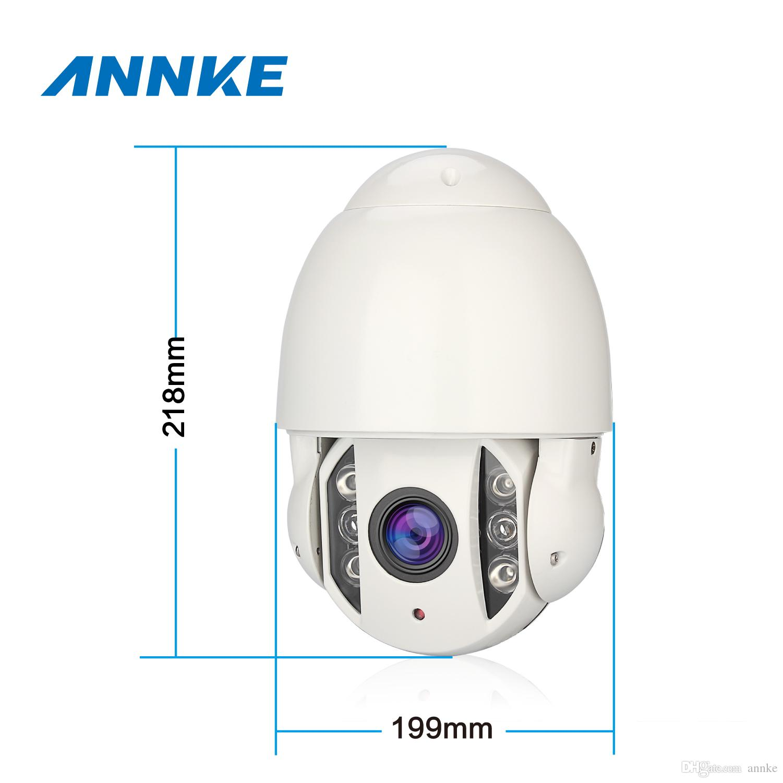 ANNKE® Home Security Wireless Mini cámara IP HD 720P Mini IR IP PTZ cámara  IR Night Vision Cámara de seguridad a prueba de intemperie Envío