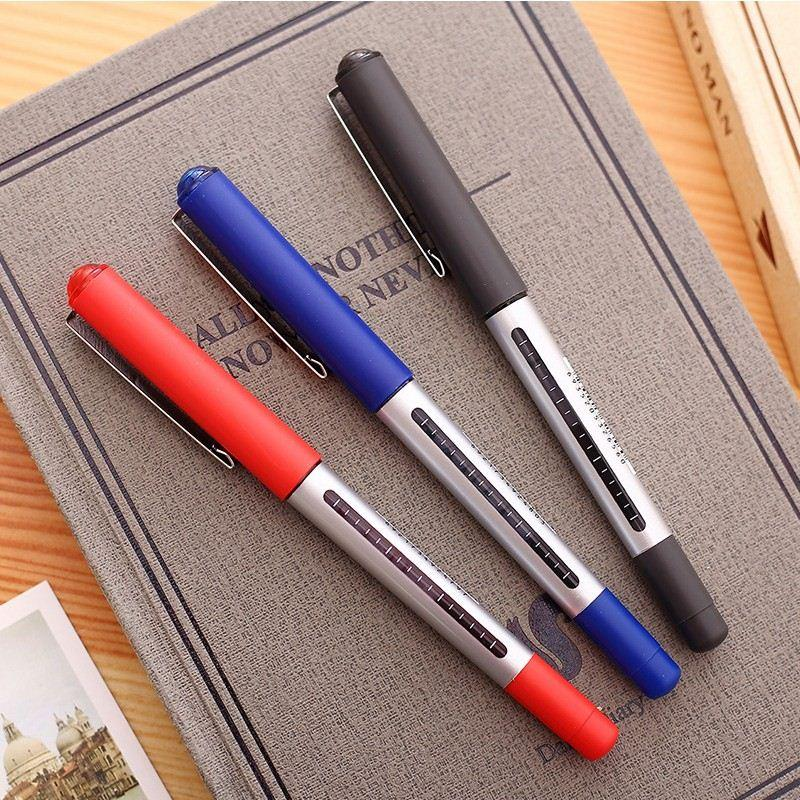 Classic Roller Tip Pen Ingrosso 3 penne gel colorate Inchiostro liquido Accessori ufficio Materiale scolastico Canetas Escolar
