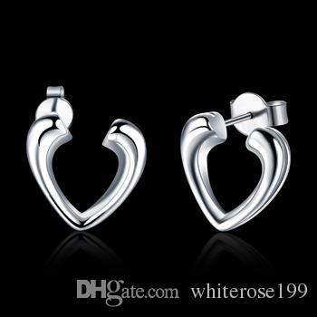 Wholesale  - 最低価格クリスマスギフト925スターリングシルバーファッションイヤリングYE065