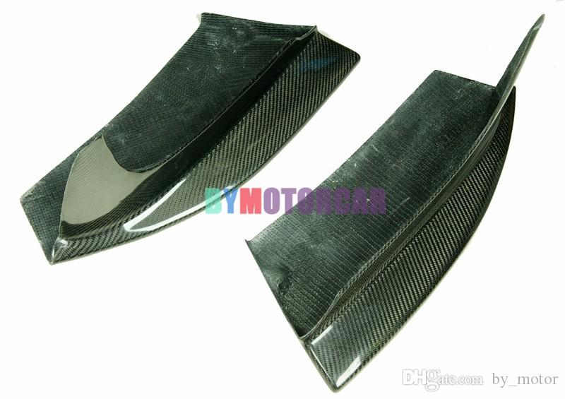 AP Style Real Carbon Fiber Front Splitter E82 118Ii 1M Fit For BMW B202