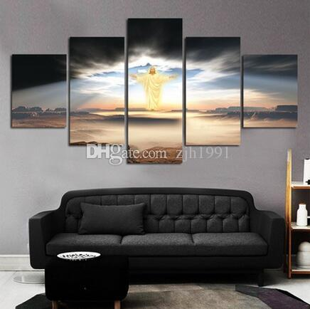 2017 Unframed Modern Paintings Canvas Wall Art For Living Room The ...