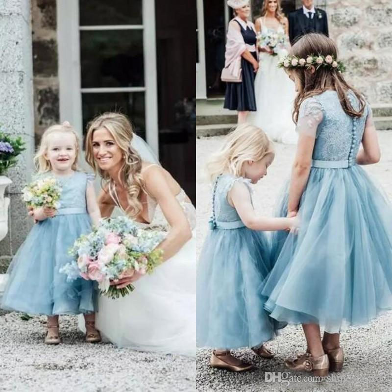 Dust Blue Dresses