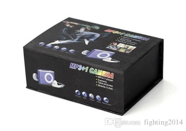 MP3 Player Camera with Clip mini Camcorder Camera Mini Video Audio Recorder Mini DV DVR Blue/Black