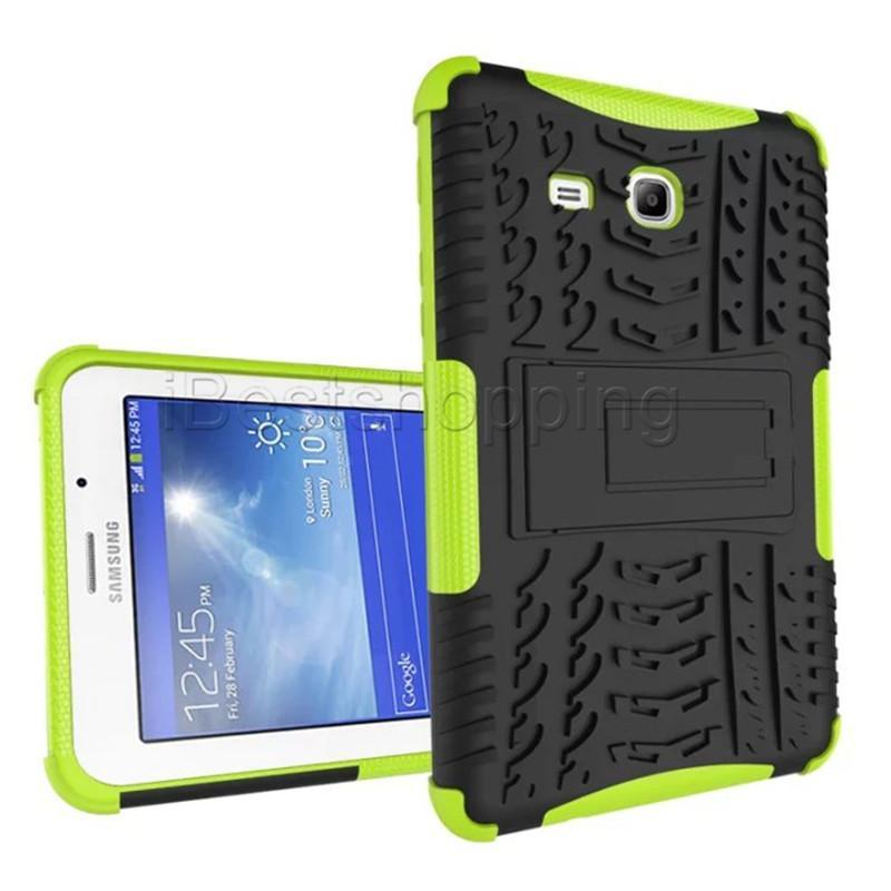 Defender Hard Back Armor Case Kickstand Shockproof Hybrid Cover For Samsung Tab 3 4 Lite T110 T113 T230 5 T350 A 2016 T280