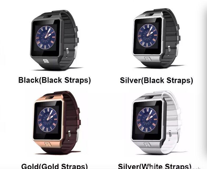 Умные Часы Watch DZ09 Смарт Часы A1 GT08 Wrisbrand Android Смарт SIM  Интеллектуальные Часы Мобильный Телефон Может Записывать Состояние Сна Смарт  Часы Умные ... da8a0e70f5f66
