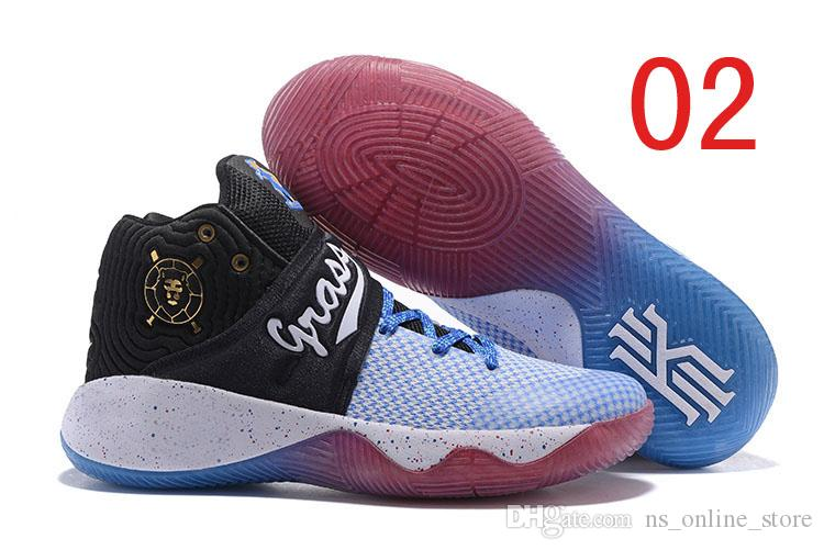 official photos e18f4 cb24d 2017 Hot Kyrie Irving Basketball Shoes For Men Kyrie 2 Bright Crimson Tie  Dye BHM All Star Basketball High Quality Outdoor Sports Sneakers Buy Shoes  ...
