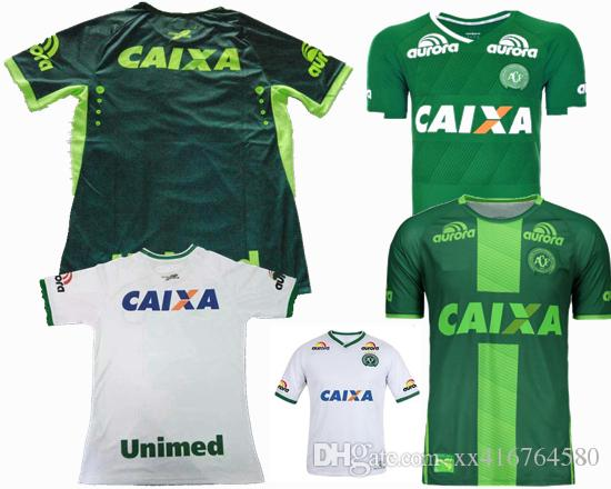 2019 2016 2017 Brazil Club Chapecoense Jersey 16 17 Home Away 3rd Green  White Best Quality Sports Shirts Jeresys From Xx416764580 80783876f