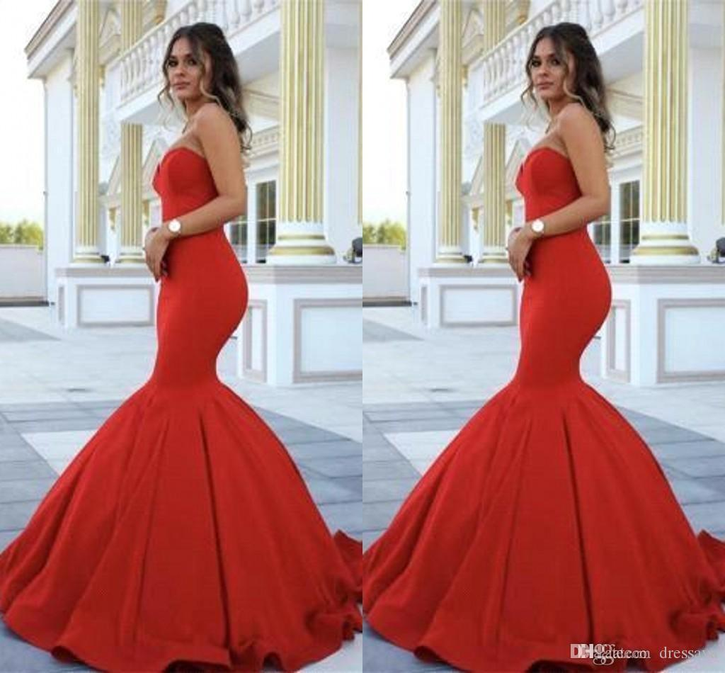 New design red carpet celebrity prom dresses 2017 - Designer red carpet dresses ...
