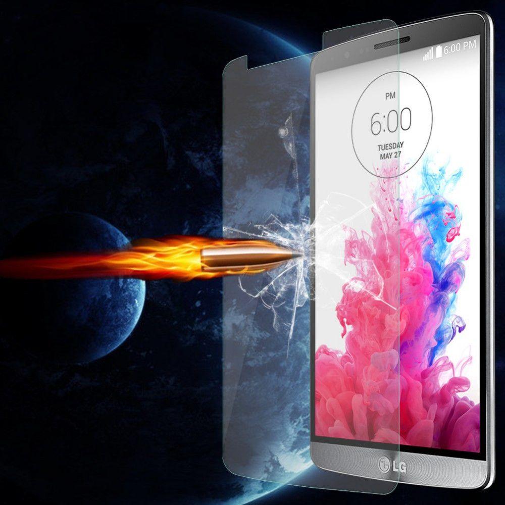 واقي شاشة زجاجي فائق الوضوح 0.3 مم لجهاز LG L65 / L70 / L90 / G Pro 2 / G Flex 1 / G Flex 2 / G2 / G2 mini / G3 / G3 mini / G4