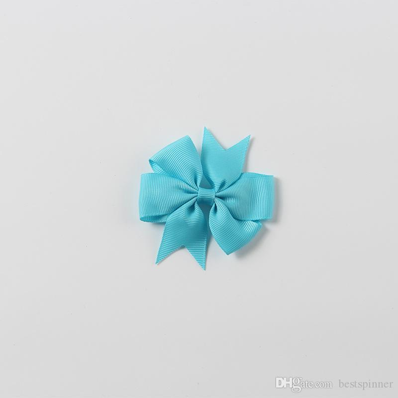 Grosgrain Ribbon Bows with Clip for Kids, Hair Bows for Girls Baby, Hair Accessorries for Children