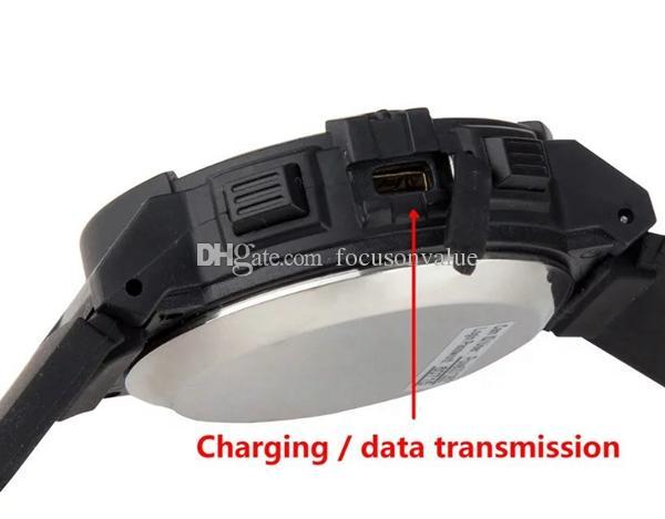 720 P HD WI-FI Assista Câmera IP Assista Câmera de Monitoramento Remoto 8/16 gb Assista Suporte LED Holofote Separada de Gravação de Voz IR Night Vision