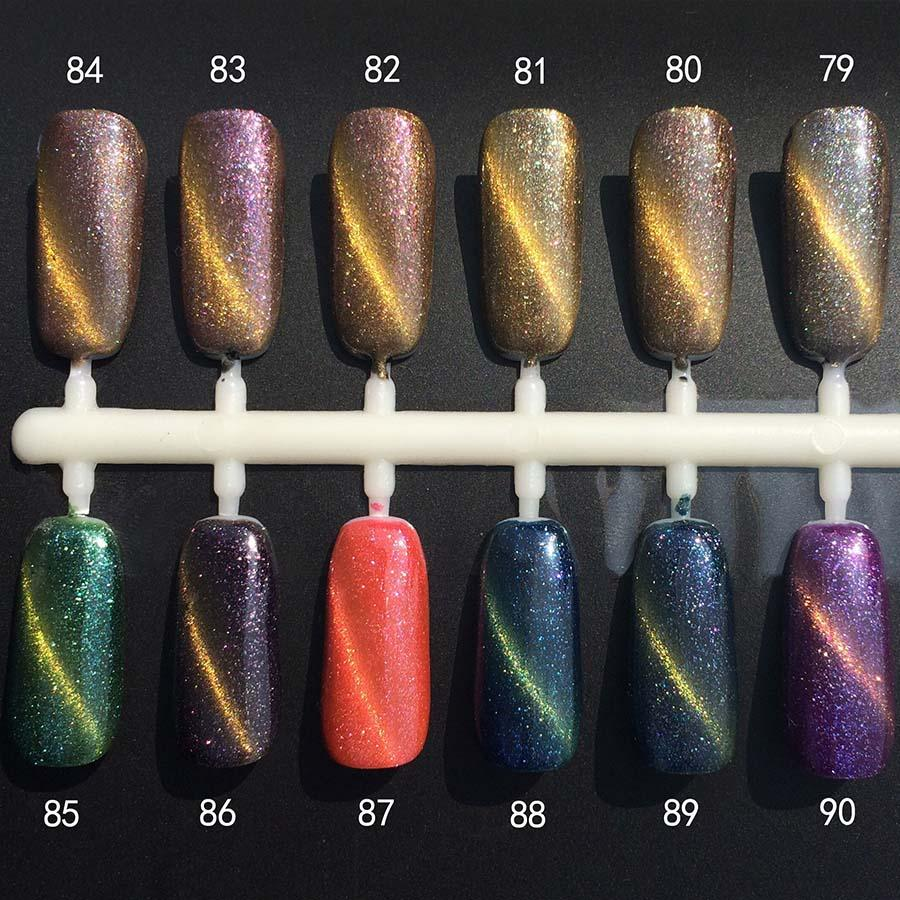 Wholesale Monasi Nail Design Uv Nails Gel Polish Cat\'S Eye Glitter ...