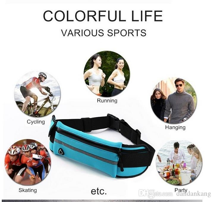 Outdoor sport Running Belts Yoga Fitness Workout phone bag cycling waistband pouch bag waterproof phone case running phone bag