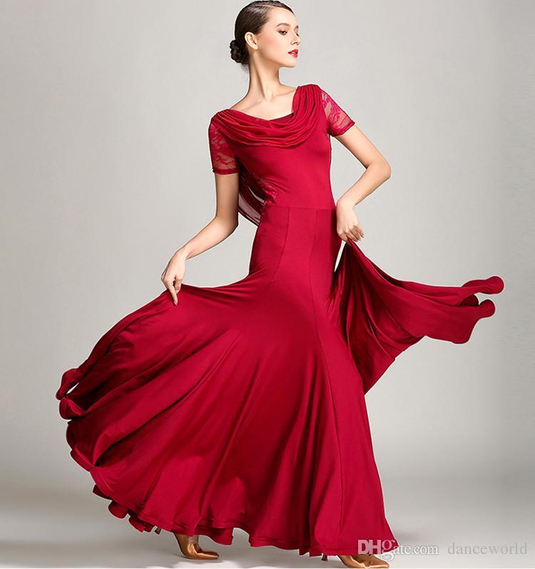 Red Ballroom Dance Dresses Ballroom on Foxtrot Dance Costumes