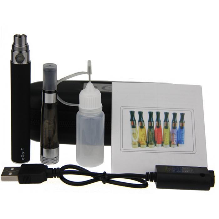 eGo-T CE4+ Plus Colorful Zipper ego case electronic cigarette starter kit CE4 plus rebuildable atomizer ego single kit