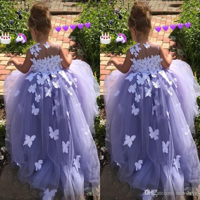 Purple 7 year old ball gown flower girl dresses tulle 3d floral purple 7 year old ball gown flower girl dresses tulle 3d floral appliques pageant gowns butterfly communion fancy dress costumes cheap white flower girl mightylinksfo