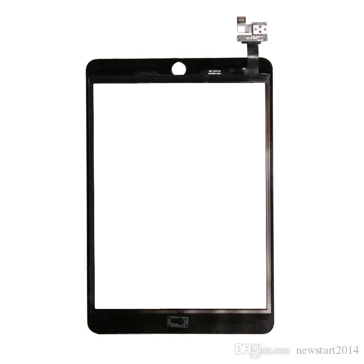 For iPad mini 3 High Quality Brand New Black Touch Screen Glass Digitizer Assembly with IC Connector