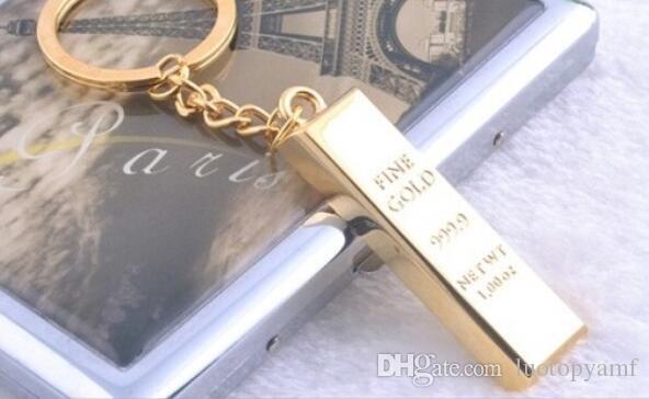 نقية غرامة الذهب سلسلة مفتاح سلاسل المفاتيح الذهبية أقراط النساء حقيبة يد قلادة سحر مفتاح حلقات معدنية مفتاح مكتشف رجل سيارة التبعي