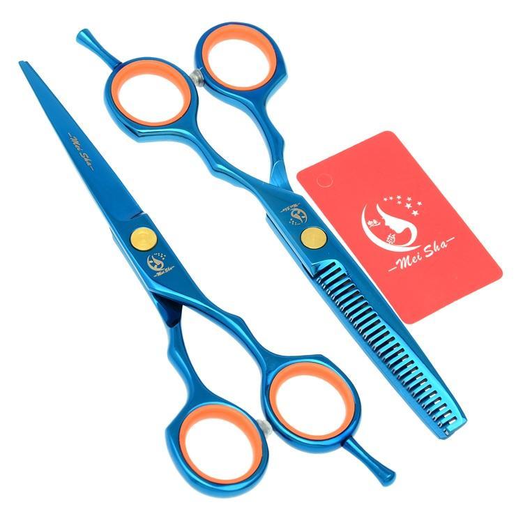 5.5Inch Meisha Professional Hair Scissors Barber Scissors JP440C Hair Cutting Scissors Thinning Shears for Barber Shop Supplies, HA0079