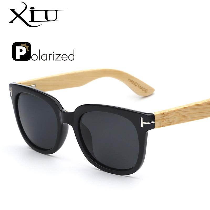 28fdb676ee7 Wholesale Xiu Mens Sun Glasses Bamboo Polarized Yellow Wooden Sunglass Women  Fashion Sunglasses Luxury Tom Brand Designer Black Sunglasses Cycling ...