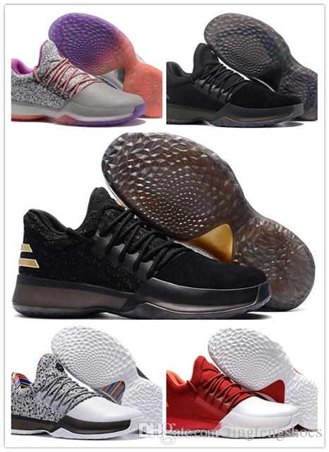 60d5d9866e34 Wholesale New Sell Harden Vol. 1 BHM Black History Month Mens Basketball  Shoes Fashion James Harden Shoes Outdoor Sports Training Sneakers Basketball  ...